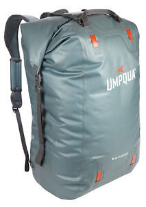Umpqua Tongass 5500 Waterproof Gear Bag Fly Fishing Organizer Steel Blue