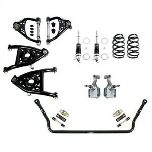 Detroit Speed 031322-R Front Speed Kit 2 1967 GM A-Body With Big Block Chevy Mot