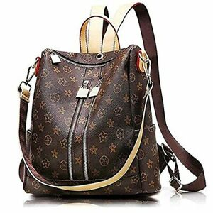 Women's Backpack Fashion Designer Leather Waterproof Backpacks