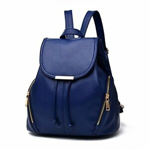 Backpack Shoulder Bag Mini Casual Purse Fashion School Leather for Women