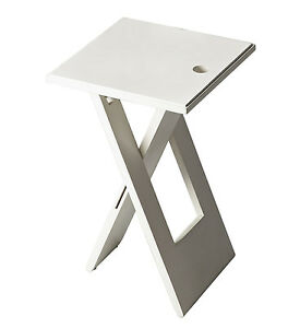 TABLES VAUXHALL CONTEMPORARY FOLDING TABLE WHITE TABLE FREE SHIPPING*