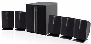 Subwoofer Surround Sound 5.1-Channel MusicTvDvd Home Theater Speakers System