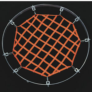 US Netting Round Confined Space Hatch Safety Fall Protection Net- 11ft. Dia.