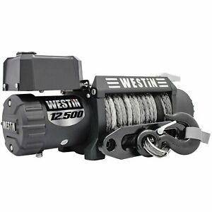 Westin 47-2109 Off-Road Series Winch 12500lbs Line Pull 6.6 HP Motor 716 Synthe