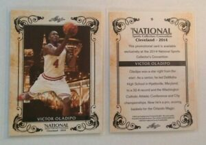 2014 Leaf NSCC National Convention VICTOR OLADIPO MagicIndiana RC #9