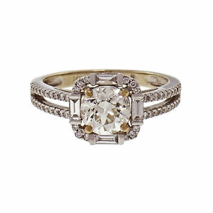 Peter Suchy Designs Diamond Engagement Ring 14k White Gold