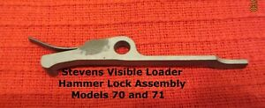 Stevens .22 Visible Loader Hammer Lock Asssembly with Spring Models 14 70 71
