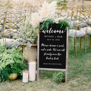 39' A-Frame Chalkboard Standing Easel/Sturdy Sidewalk Outdoor for Wedding more
