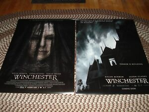 Helen Mirren WINCHESTER Set of 2 D S Theatrical One Sheet Posters Teaser Final