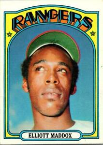 ELLIOTT MADDOX 1972 TOPPS #277 EX OR BETTER -COMPLETE SET BREAK- (25% OFF)*