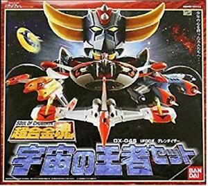 Soul of Chogokin GX-04S UFO RoboGlendizer King of the Universe set BANDAI SPIRIT