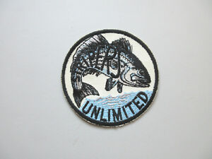 STRIPERS UNLIMITED ATOM FISHING LURE STRIPED BASS FISHING PATCH