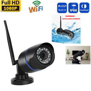 HD1080P Security Home Wireless WIFI IP Outdoor IR Night Vision Motion Camera