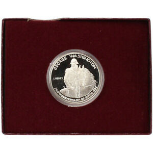 1982 S US George Washington Commemorative Proof Silver Half Dollar