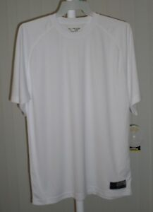 Tee Shirt Short Sleeve White Golds Gym Bi Dri Size Small $5.99