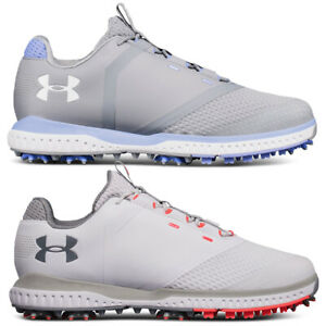 Under Armour Womens UA Fade Light Waterproof Spiked Golf Shoes 36% OFF RRP