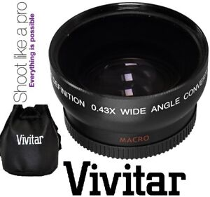 Pro Hi Def Wide Angle Lens With Macro For Canon EOS M6 M50 $16.83