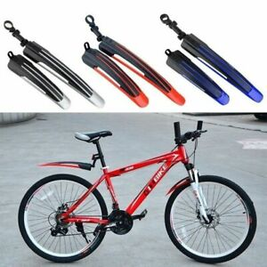 Adjustable Mountain Bike Bicycle Front/Rear Tire Fenders Mudguards