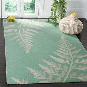 Martha Stewart by Safavieh Ferns Cornbread  Natural Area Rug - 8' x 10'