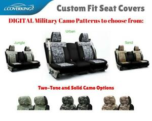 DIGITAL MILITARY CAMO CUSTOM FIT SEAT COVERS for MITSUBISHI LANCER