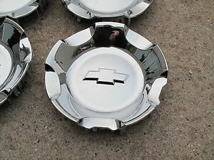 ONE NEW CHROME CENTER CAP FOR 20 AND 22 CHEVROLET WHEEL RIM 5308