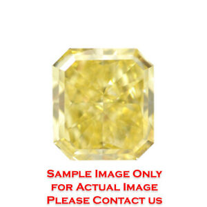 14.03ct Natural Radiant Loose Diamond GIA Fancy Intense YellowVS1 (1152419612)