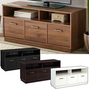 3-Door TV Stand Console for TVs up to 50