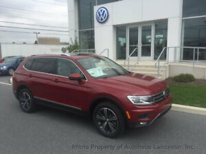 2019 Volkswagen Tiguan 2.0T SEL 4MOTION 2.0T SEL 4MOTION New 4 dr SUV Automatic Gasoline 2.0L 4 Cyl Cardinal Red Metalli