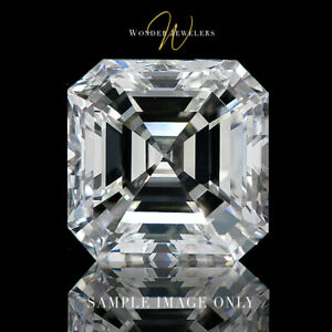 16.06ct Asscher Cut Loose Diamond GIA Certified GVVS2 + Free Ring (2183926836)