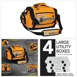 Fishing Tackle Bag Soft-Sided Large Utility Lure Box Storage Dads Favorite Gift