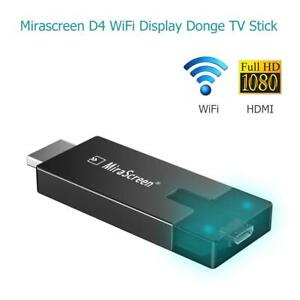 HDMI 1080P 2.4+5G Wireless WiFi Display Dongle Adapter Miracast Airplay TV Stick