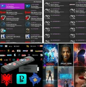 PORTUGUESE IPTV WITH 1 YEAR SUBSCRIPTION ON AMAZON FIRE TV STICK