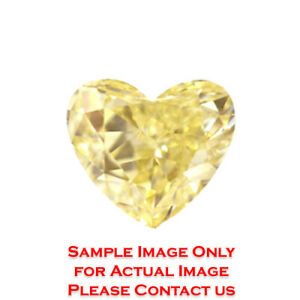 8.59ct Natural Heart Diamond GIA Certified Fancy Light YellowVS2 (2173353938)