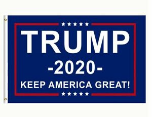 Trump 2020 Keep America Great President Donald Make America Great 3x5 Ft Flag US