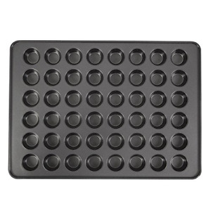 Perfect Results Non-Stick Mega Mini Muffin And Cupcake Pan 48-Cup Quick Cleanup