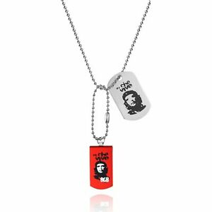 Viewquest Intelligent Jewellery 8GB USB Flash Drive Dog Tag Necklace - Che Vive