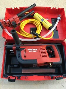 New Hilti DD EC-1 Diamond Core Drilling Machine With Case