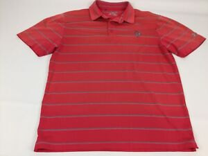 Under Armour Heat Gear Loose Fit Golf Polo Shirt Size L $18.00