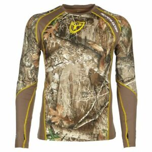 New Scent Blocker 1.5 Performance Layer Shirt Mossy Oak Country Realtree Edge