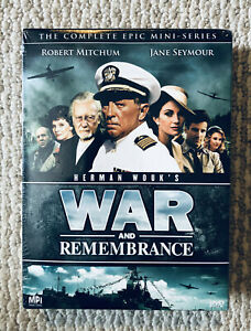 Herman Wouk War and Remembrance The Complete Epic Mini-Series Robert Mitchum NEW
