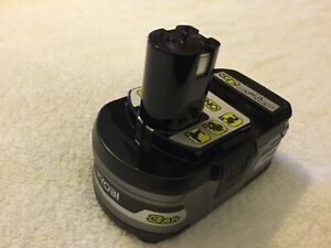 New Ryobi P191 One+ HP 18V 18 Volt Lithium Ion Battery 3.0Ah Li-ion