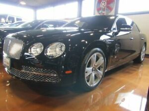 2014 Bentley Flying Spur 4dr Sdn Black Crystal Metallic Bentley Flying Spur with 8564 Miles available now!