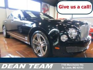2012 Bentley Mulsanne 4dr Sdn Black Crystal Metallic Bentley Mulsanne with 9375 Miles available now!