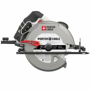 Porter Cable PCE300 15 Amp 7 1 4 Inch Heavy Duty Steel Shoe Circular Saw $53.99