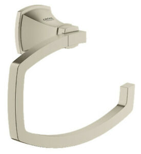 Grohe 40625EN0 Grandera Single Post Toilet Paper Holder - Brushed Nickel
