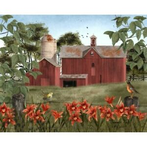 Billy Jacobs Summers Day Canvas 8 x 10 Country Farmhouse Rustic Americana Pic