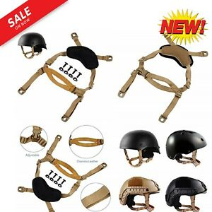 Helmet Chin Strap For FastMICHACHIBH Tactical Helmets X NAPE Suspension Syste