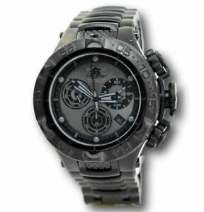 Invicta Subaqua Noma V Men's Triple Black 26633 Swiss Chronograph Watch 50mm