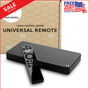 Caavo Universal Remote with Voice Control [Control Connected Center