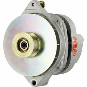 Powermaster 478648 XS Volt CS144 Style Alternator Natural 200 Amp 6-Groove Serpe